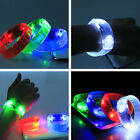 NEW CHEAP Blinking Sound Controlled Voice activated LED Light Up Bracelet Bangle