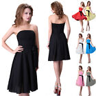 Beautiful Girl Short Formal Evening Prom Party Masquerade Dress Bridesmaid Gown