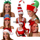 CHRISTMAS HATS VARIOUS FUNNY GIFTS STOCKING FILLERS HEADWEAR XMAS FANCY DRESS