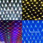 1.5Mx1.5M 2Mx3M 96/120/200 LED Net Fairy Lights Wedding Party Christmas Decor