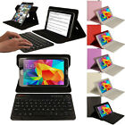 Samsung Galaxy Tab 4 8.0 (T330 etc) 360 Rotating Bluetooth Keyboard Leather Case