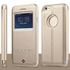 Deluxe Magnetic Flip Leather Stand Skin Hard Case Cover for Apple iPhone 6 Plus
