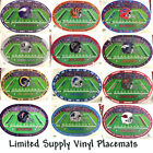 NFL PLACEMATS, NFL SOUVENIR PLACEMATS FOOTBALL TEAMS PLACEMAT FREE SHIPPING $14.99 USD on eBay