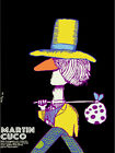 4639.Martin cuco.hobo walking carrying bag.movie.POSTER.Decoration.Graphic Art