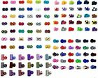 Lot of 5,10,20 PR Colorful Men's Cufflinks Cuff Links Silk Knot 100+ design CSPH