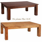 Carnival Coffee Table Solid Acacia wood in Burnt Oak or Brushed Sand Finish