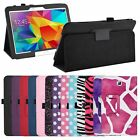 Folio Flip Case Stand Leather Cover for Samsung Galaxy Tab 4 Nook 7-inch Tablet
