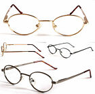 GI012 BIFOCALS BIFOCAL Transitions UV400 Reading Glasses Titanium Frames