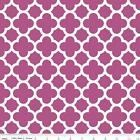 QUATREFOIL  - FUSCHIA - RILEY BLAKE 100% COTTON FABRIC