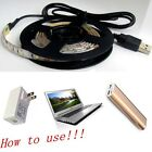 US SHIPPING New Decoration Waterproof Led Strip Light Lamp With USB Cable 5V