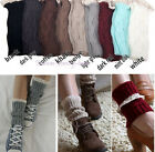 Nice Women's Crochet Knitted Lace Trim Boot Cuffs Toppers Leg Warmers