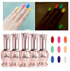 GLOW IN THE DARK Candy Color Soak-off UV Led Gel Polish Nail Art Tips  New 8ml