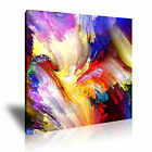 MODERN ABSTRACT ART Illusions Canvas Framed Print ~ More Size