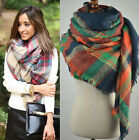 2016 Women Blanket Oversized Tartan Scarf Wrap Shawl Plaid Cozy Checked Pashmina <br/> ▲OVER 2000+ SOLD▲GLOBAL SHIPPING▲52 colors choice