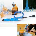 New 3D Stereoscopic Printing Pen for 3D Drawing Arte Crafts Printing Grey