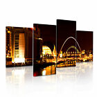 LONDON Others 1 UK Citysacape 4R-RH Framed Print Canvas Wall Art~ 4 Panels