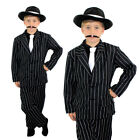 CHILDS GANGSTER SUIT 1920'S FANCY DRESS BUGSY COSTUME CHILDRENS CHARLESTON