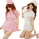 Role Play Cosplay Nurse Fancy Dress Adult Erotic Outfit Ladies Doctor Fantasy