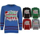 Women's  Novelty XMAS Knitted Ladies Ugly Christmas Sweater Party Jumper 8-14