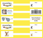 Promote Your Own Brand With Inkjet Jewellery Price Labels / Stickers 15 x 100mm