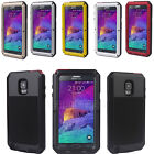 Waterproof Aluminum Gorilla Metal Cover Case for Samsung Galaxy Note 4 N9100