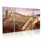 CHINA Great Wall 1 Cityscape Asia 3B Framed Print Canvas Wall Art~ 3 Panels