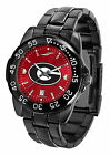 Georgia Bulldogs Fantom Watch Anochrome Gunmetal Ladies or Mens Red Dial