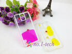 New Flowable Liquid Swimming Fish Transparent Case For Samsung Galaxy S4 S5
