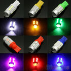 PRACTICAL 2PCS T10 5630/5730 10SMD LED AUTO CAR TURN SIGNAL LIGHT LAMP WITH LENS