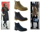LADIES WOMENS GIRLS ANKLE CHELSEA BOOTS ELASTICATED TWIN GUSSET BOOTS SHOES SIZE