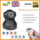 TENVIS  HD 720P WIFI IP Camera P2P H.264 Wireless Night Vision Dual Audio IR-CUT