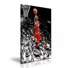 Michael Jordan Basketball Sports Wall Art Canvas Print Framed Box ~ Many Size