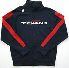 NFL Houston Texans Wideout Navy Blue Full-Zip Fleece Track Jacket $49.99 USD on eBay