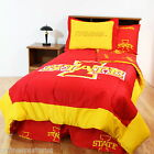 Iowa State Cyclones Comforter Sham and Valance Set Twin or Full Reversible