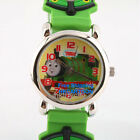 THOMAS & FRIENDS JAMES PERCY 3D GRAPH SOFT BAND CHILD WATCH TF-3K2011P