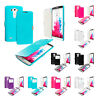 For LG G3 Magnetic Closing Wallet Pouch Cover Hard Flip Case