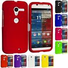 Color Hard Snap-On Rubberized Case Skin Cover for Motorola Moto X XT1060