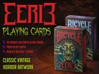 CARTE DA GIOCO BICYCLE EERIE,poker size
