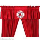 Boston Red Sox Curtain & Valance Set