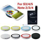 Qi Wireless Charging Pad+Receiver Card for Samsung Galaxy S3 4 5 Note 2 3 4 #MTC