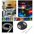 16FT 5M Flexible RGB 300/600/1200 LED SMD 5050/5630/3528 Strip Light Lamp DIY