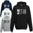 STAR Laboratories Hoodie - The Flash New TV Series S.T.A.R. Labs Fan Hoody Top