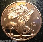 2017 ROLL 20 COPPER WALKER BULLION ZOMBUCKS 1 OZ ROUND ZOMBIE LIBERTY SERIES 1