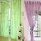 Willow Tulle Door Window Curtain Drape Panel Sheer Scarf Valances Reliable