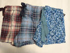 AMBRIELLE Sleepwear Shorts Size S M L XL 1X Floral Plaid Choice NWT Cotton