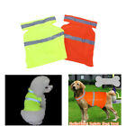 Pet Dog Puppy Fluorescent Night Walk High Visibility Safety Vest Clothes S/M/L