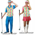 GOLFER GOLFING FANCY DRESS OUTFIT MENS LADIES COUPLE GROUP GOLF COSTUME PUB GOLF