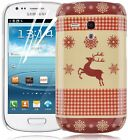 Christmas Winter Festive Pattern Hard Back Case Cover For Samsung Galaxy S3 Mini