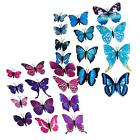 New Art Design Decal Wall Stickers Home Decor Room Decorations 3D Butterfly  UMO