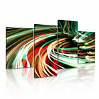 MODERN ABSTRACT ART Tunnel Stripes Canvas Framed Print ~ 4 Panels